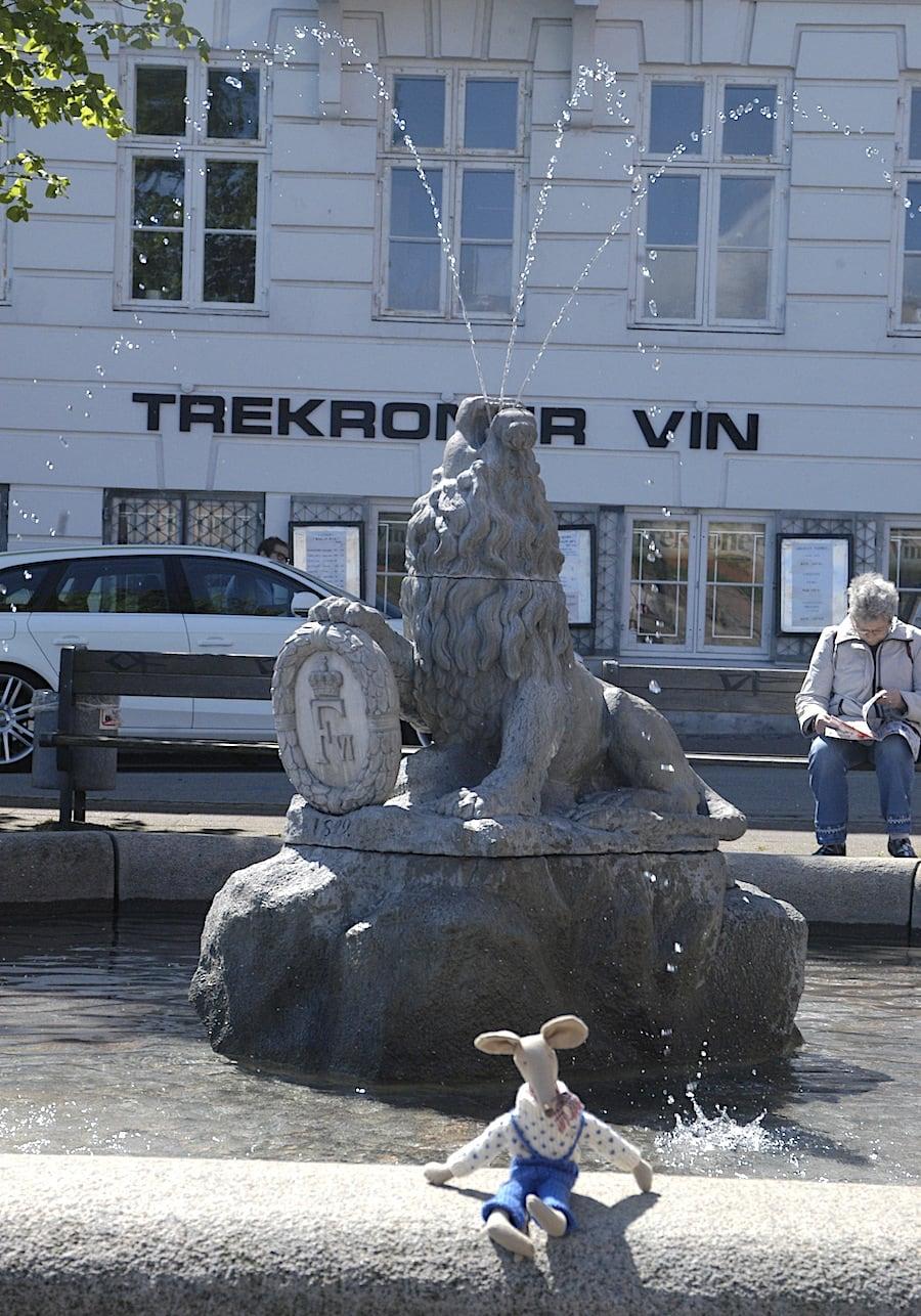 Løvespringvandet